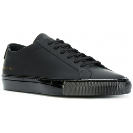 Common Projects men's sneakers in black leather