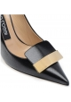 Sergio Rossi heels pumps shoes in black leather