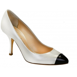 Giuseppe Zanotti pumps heels in ivory patent leather
