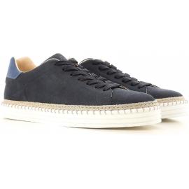 Hogan men's sneakers R206 in blue leather