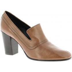 Céline loafer with heel in brown Calf leather