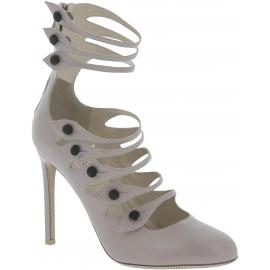 Valentino women's stiletto heels pumps in Mauve Leather