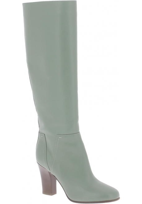 the cheapest reasonable price entire collection Valentino women's knee high boots in Olive Green Leather