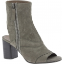 Chloé women's ankle booties in Taupe Suede leather