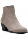 Hogan Women's booties in beige suede with cuban heel