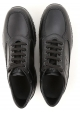 Hogan INTERACTIVE man's high sneakers in black leather
