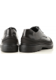 Hogan H393 DERBY men lace-ups in black Shiny calf leather with rubber finishes