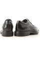 Hogan H393 DERBY men's lace ups in shiny black leather with brogue