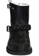 Golden Goose women's ankle boots in black leather