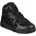 Fila women's high top sneakers in black leather