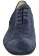 Jean-Baptiste Rautureau lace-up in blue suede leather