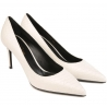 Saint Laurent pumps heels shoes in white Leather