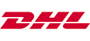 Delivery with DHL express courier
